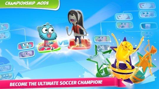 Superstar Soccer Goal App Mixed Shows Apps Cartoon Network Mobile Apps